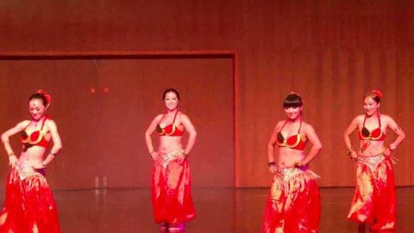 好看的印度舞表演图片