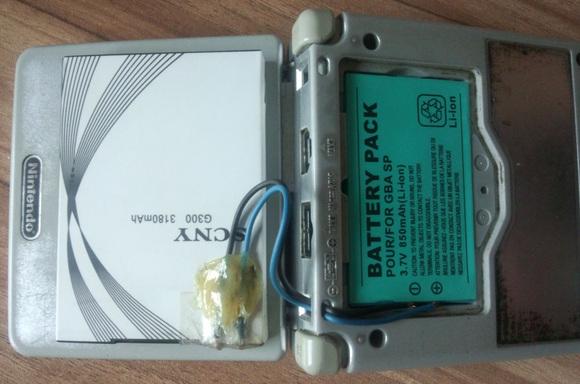 我的sp大电池 最土的方法图片