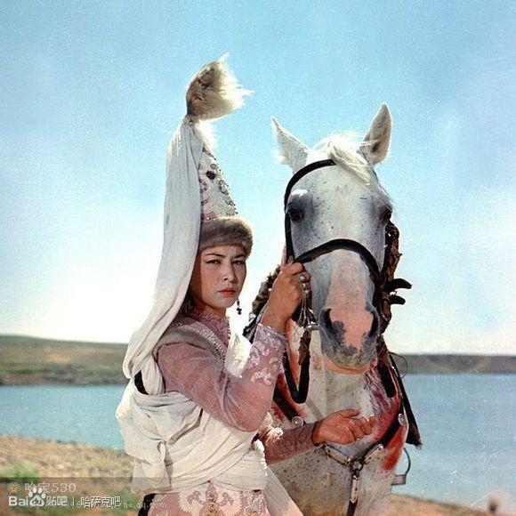 哈萨克美女是最美的