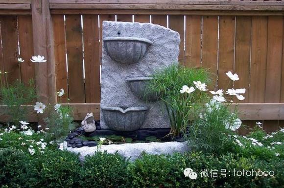 【三树山景观】美式田园风别墅花园图片