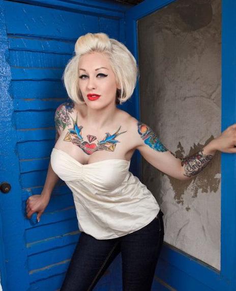 2012国外纹身――美女性感图!