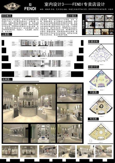 这是我的室内设计的作业排版···求大神修改图片