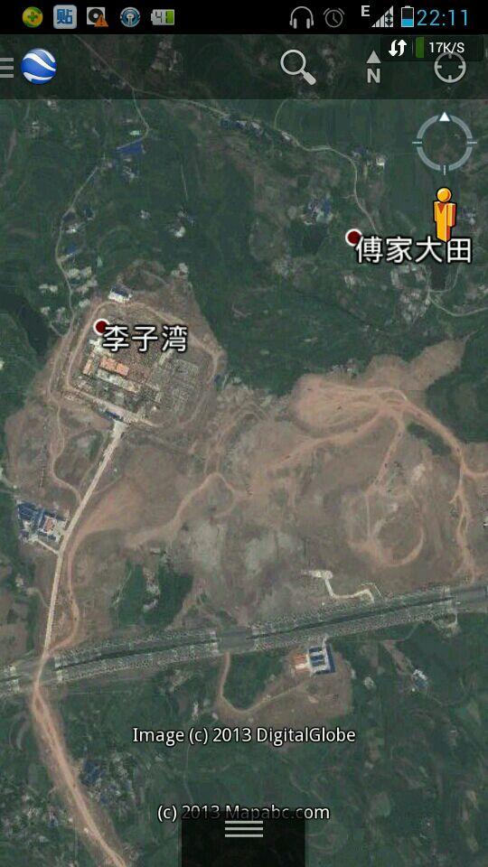 江津滨江新城最新卫星地图 重庆区县城市风光吧 百度贴吧 高清图片