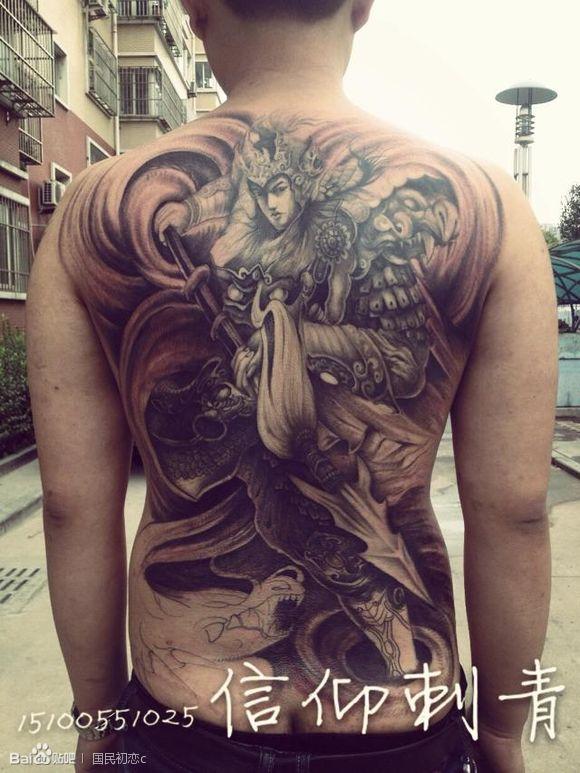 我和临摹赵云内个东北纹身师哥们不是一个人图片