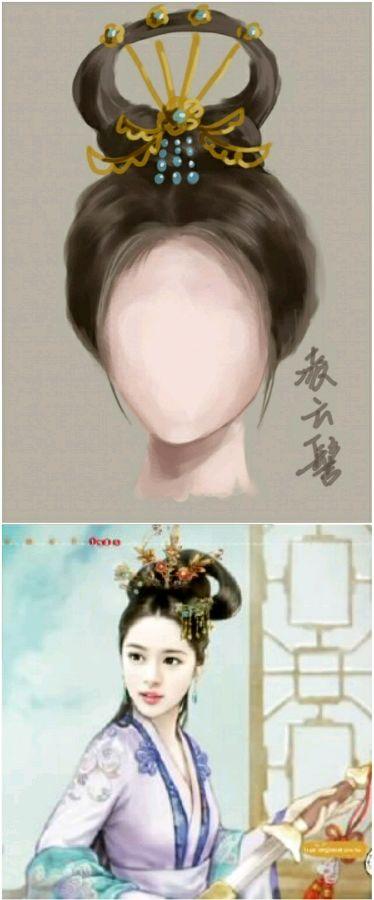 [发饰介绍]古代女子发饰图片