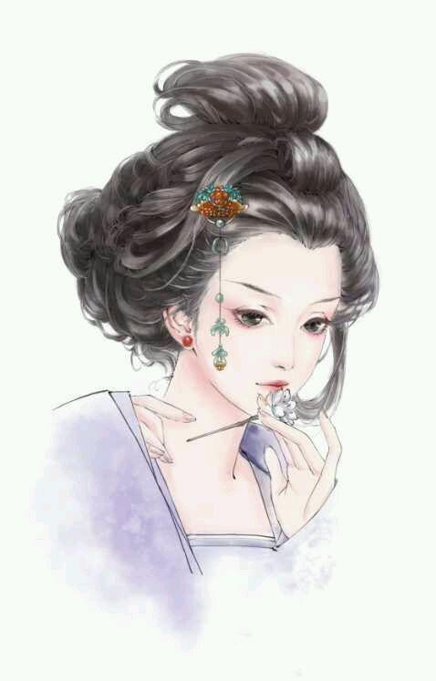 【发图】一些手绘图,古装美女的.各位亲欢迎加图!图片