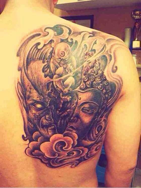 看到这个纹身我已经不知道说啥了图片
