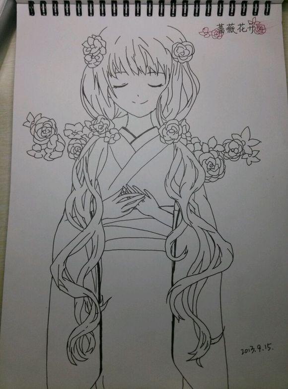【手绘】唯美的铅笔手绘图图片