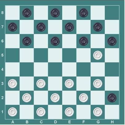 国际跳棋开局的基本方法有哪些图片