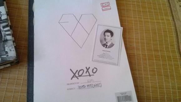 exo周边【出】中咆哮十二月的奇迹狼与美女专辑
