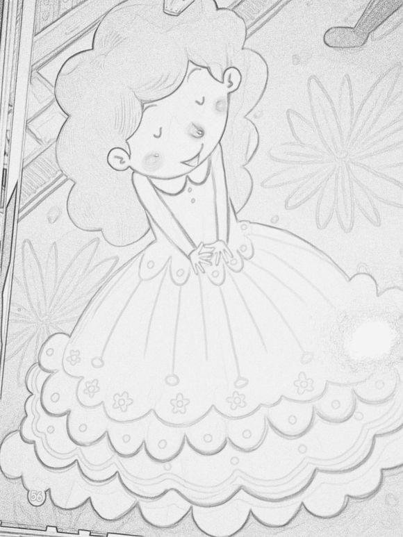 小公主_手绘吧_百度贴吧图片
