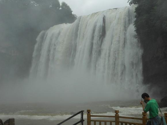 [浴〈]黄果树瀑布游,说感受,谈攻略_贵州吧_百度贴吧 高清图片