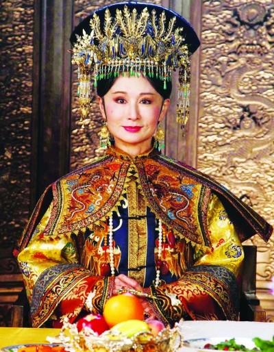 清朝皇后手绘图片_【红豆的童话】盘点清朝历代 皇后 及其扮演者