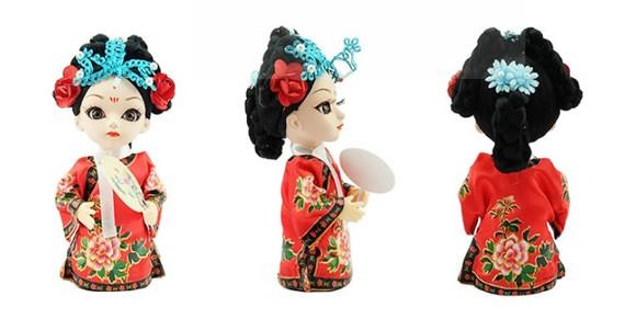 北京礼物—京剧娃娃图片