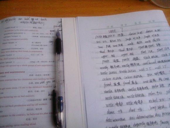 听歌抄写英语单词图片