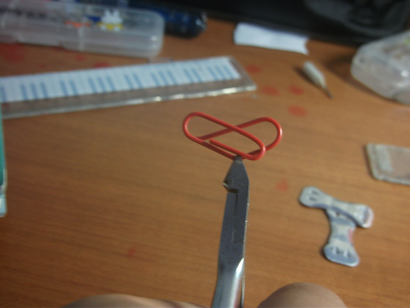 心形曲别针的制作过程图片