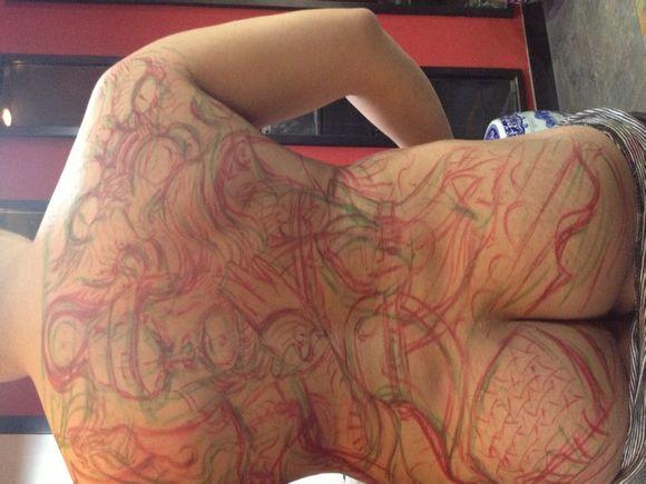 你们纹过纹身吗?直播图片