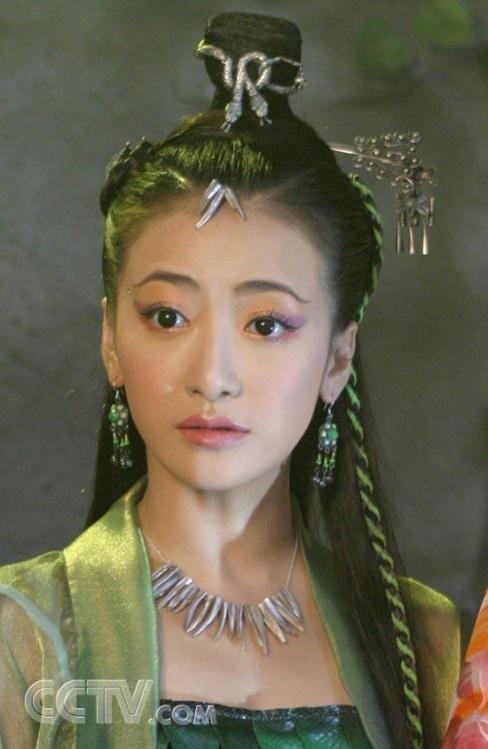 古装美女的额前头饰 古剑奇谭电视剧吧 竖