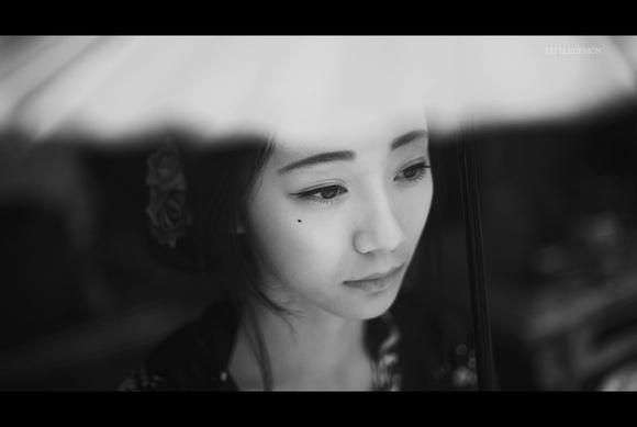 一组日本少女切腹的唯美摄影