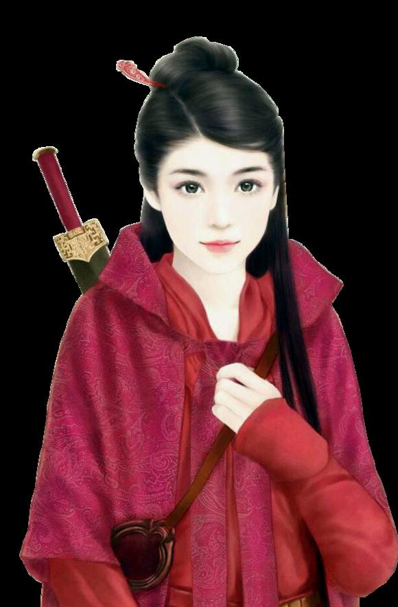 【资源】★☆十一娘☆★古代二次元立绘——女扮男装图片