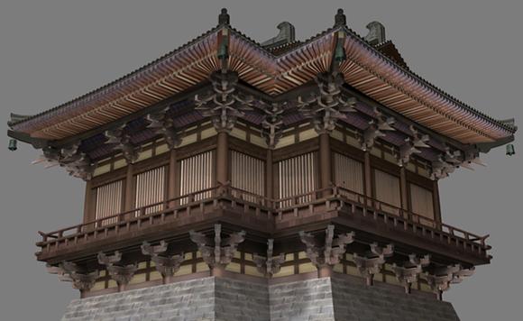 代宫殿复原资料图片