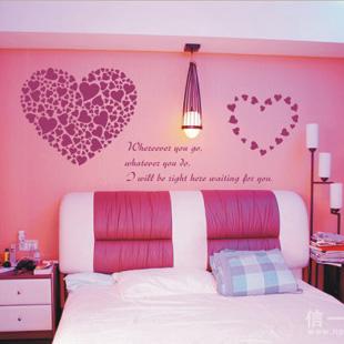 新娘帮—最甜蜜婚房卧室布置图片