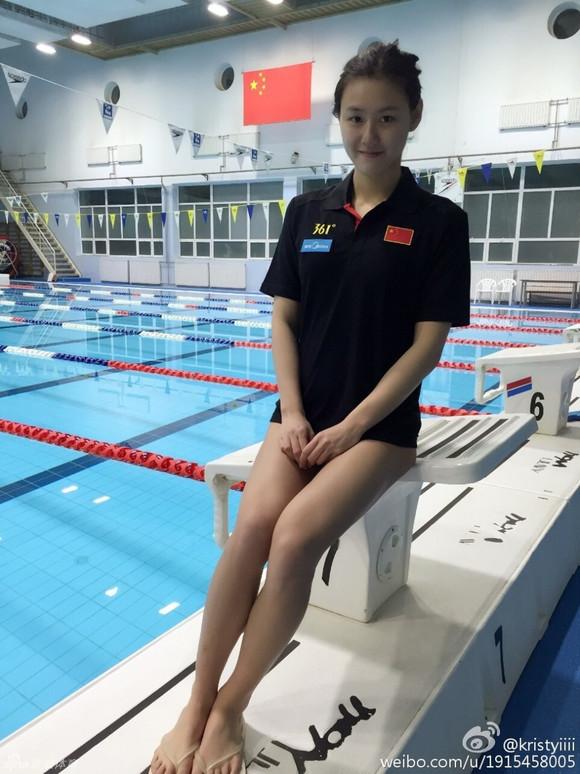 游泳美女刘湘惊艳 阿森纳吧