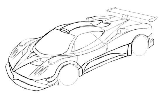汽车简笔画_汽车手绘吧图片