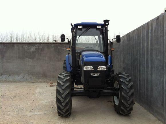 刚提的雷沃1104拖拉机 高清图片