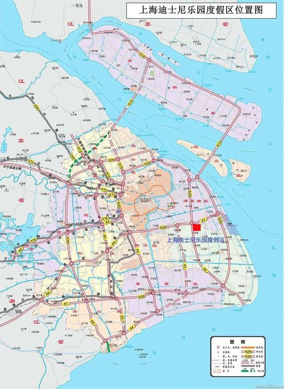 上海迪士尼乐园规划图 迪士尼乐园吧 百度贴吧 高清图片