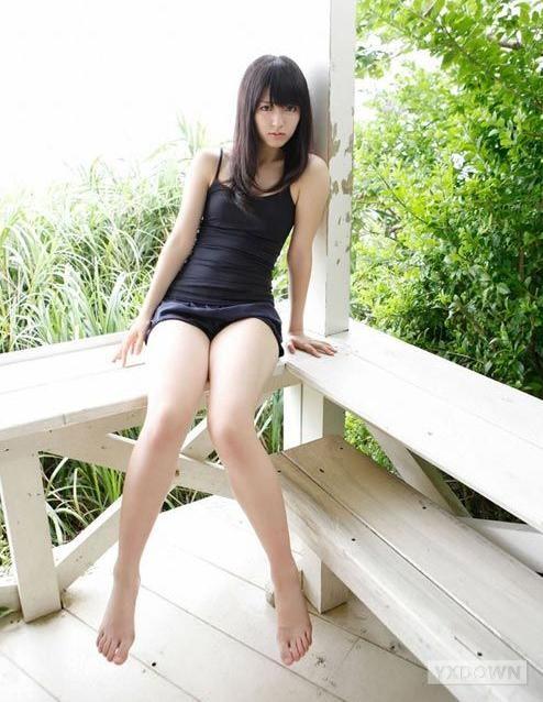 90后美少女矢岛舞美清纯写真