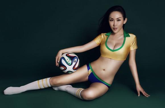 2014巴西世界杯美女集合