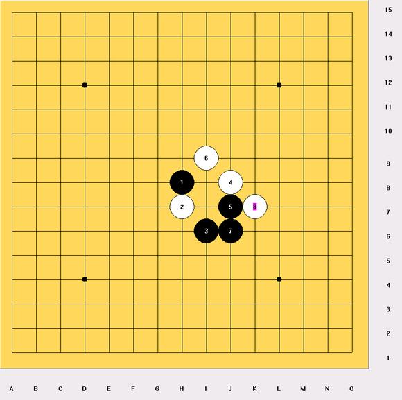 五子棋的取胜技巧 菜鸟专用图片