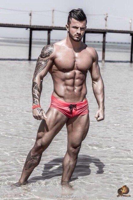 欧美肌肉男 欧美图片吧