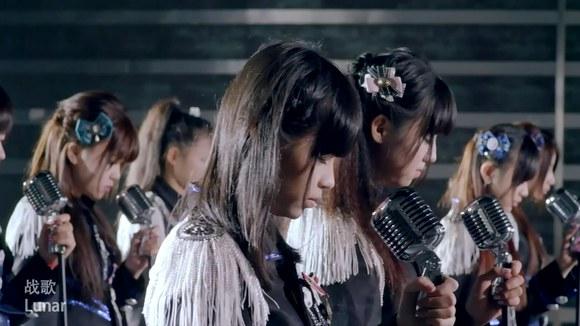 中国美少女组合lunar新单《战歌》mv首播