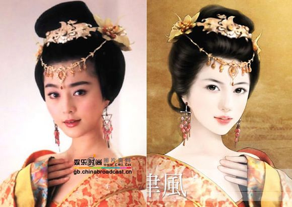 古装美女与手绘图_古装美女吧图片