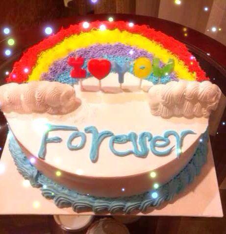 老公过生日送什么样的蛋糕好呢?图片