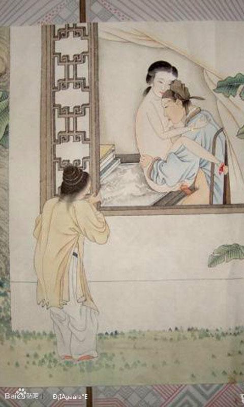 古代春共宫图片欣赏
