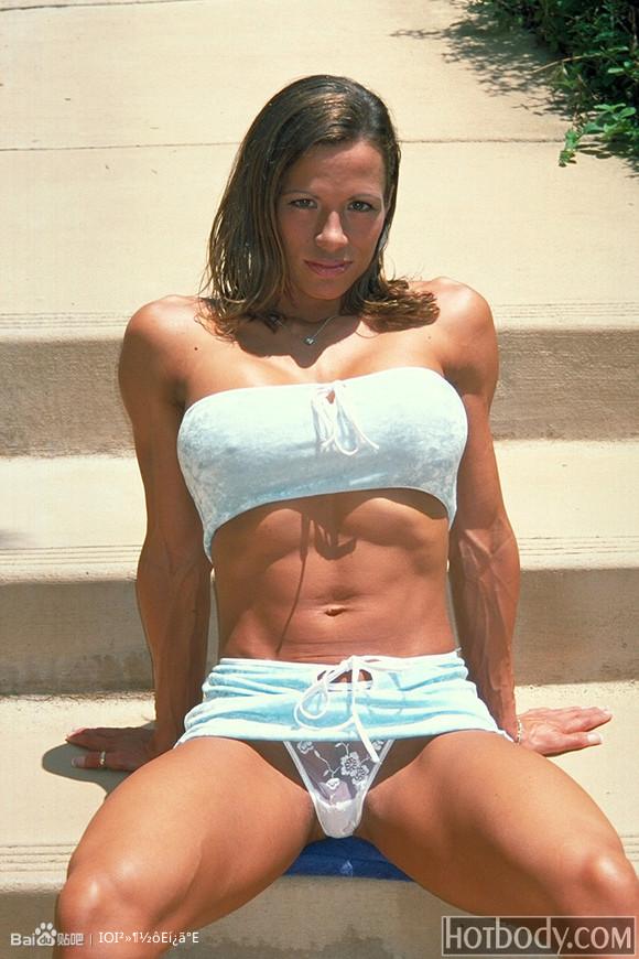 肌肉女磅礴的肌肉6