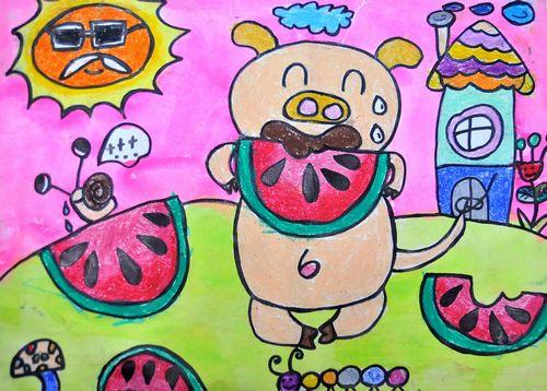想给孩子学画画,是选儿童画好还是国画好图片