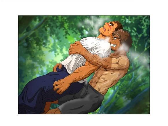 狼兽人x人漫画