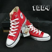 红色帆布鞋番号