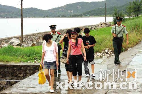 朝鲜偷渡女人的照片