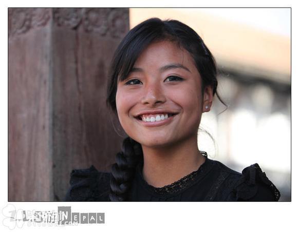 尼泊尔美女多