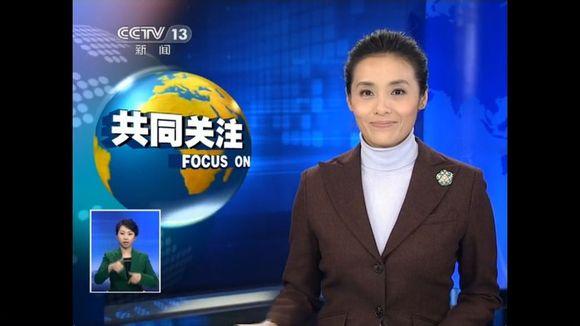 央视女主播慕林杉照片