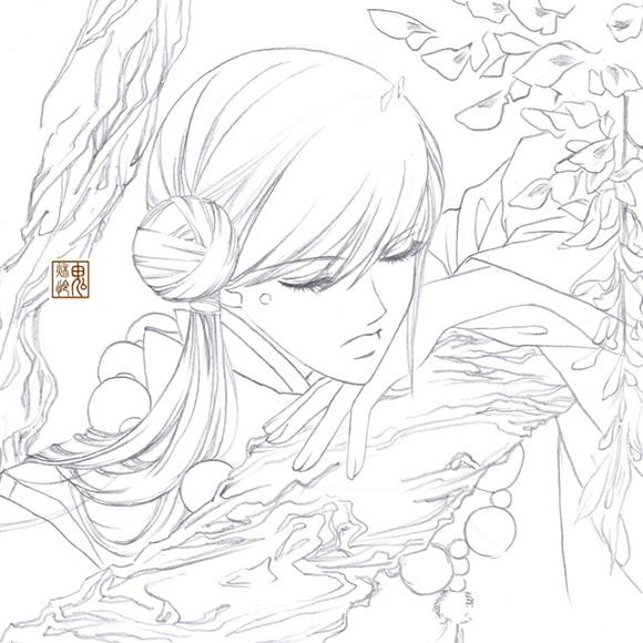 剑灵女角色福利图片