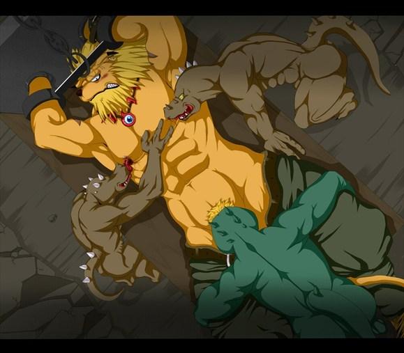 龙兽人搞基动漫