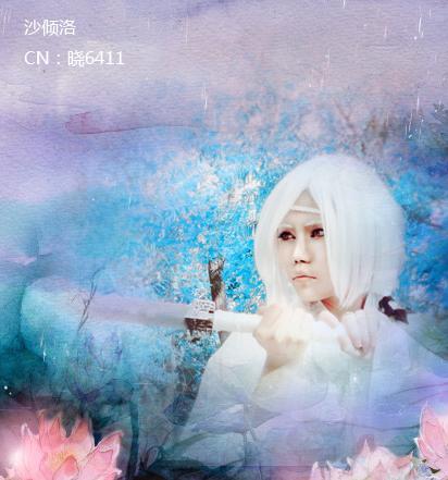 古风图片女子白衣清冷