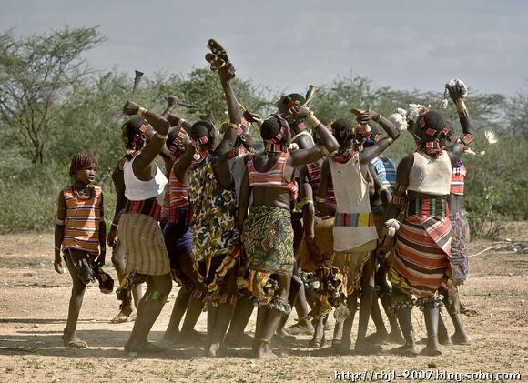 亚马逊土著人原始生活