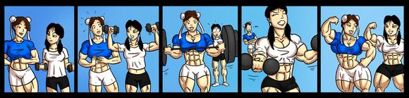 肌肉bl漫画